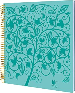 Daily Goal & Life Planner - Weekly & Monthly Organizer, Appointment Book & Journal, 2020 January – December - Hard Cover - by InnerGuide