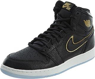 202b0821f1f86 Amazon.com: Air Jordan 1 Retro Shoe - Air Jordan (Black/gold ...
