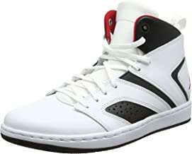 Jordan Flight Legend White/Gym Red-Black