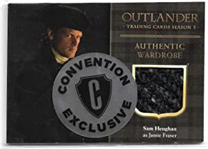 2018 Cryptozoic Outlander Season 3 Wardrobe CE6 Sam Heughan as Jamie Fraser Convention Exclusive Philly Non Sport Show