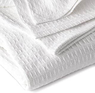 pure white throw blanket