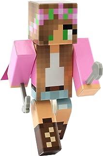 EnderToys Pink Flower Girl Action Figure Toy, 4 Inch Custom Series Figurines