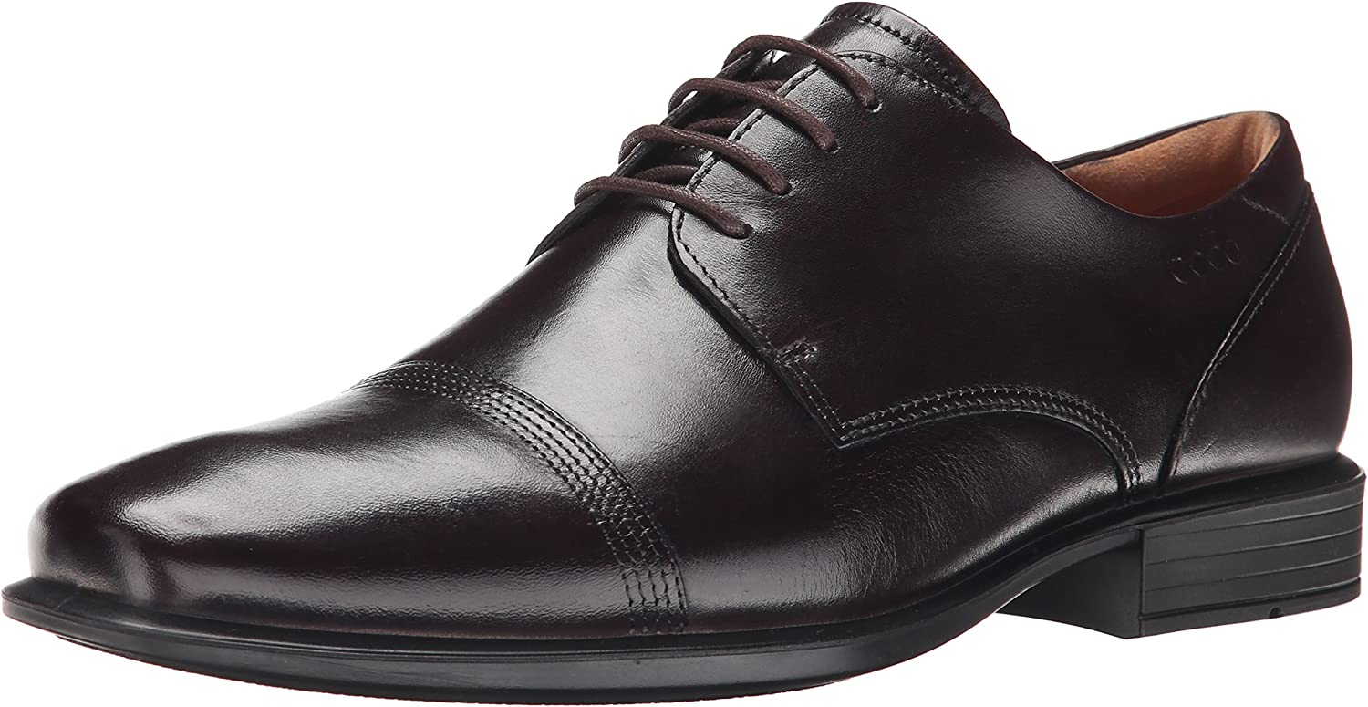 ECCO Men's Cairo Cap-Toe Oxford