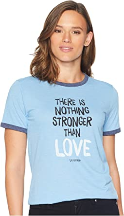 Stronger Than Love Ringer Cool T-Shirt
