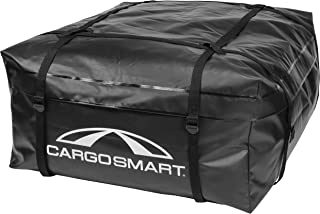 "CargoSmart Soft Sided Car Top Cargo Bag, 36""x30""x16"" – Adds up to 10 Cubic Feet of Storage – Easily Mounts to Vehicle's Bare Roof, Roof Rack or Roof Top Basket – Heavy-Duty Vinyl"