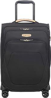 Samsonite - Spark SNG Environmentally Friendly 55cm Small 4 Wheel Soft Suitcase - Eco Black