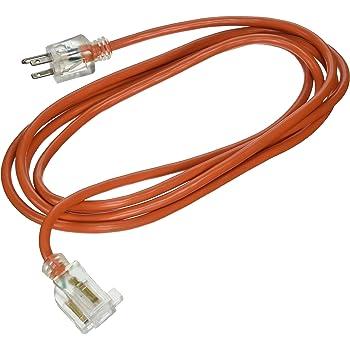 ATE Pro 16 Gauge 10 USA 70033 Extension Cord 3-Prong 10/' Homeland Generators /& Machinery