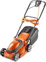 Flymo EasiStore 300R Electric Rotary Lawn Mower - 30 cm Cutting Width, 30 Litre Grass Box, Close Edge Cutting, Rear Rolle...
