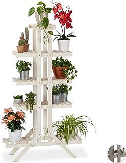 Farbe : Braun Blumentreppe Eisen Multi Layer fleischigen Desktop Schreibtisch Mini Blumentopf Rack Kleine Metall Ornamente Einfache Moderne Indoor Blumen Regal