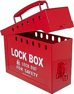 Brady Portable Group Lock Box, Metal