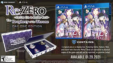 Re:ZERO – The Prophecy of the Throne Day One Edition – PlayStation 4