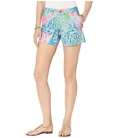 Lilly Pulitzer Callahan Knit Shorts (Multi Sink Or Swim) Women