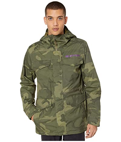 Burton Covert Jacket (Worn Camo) Men