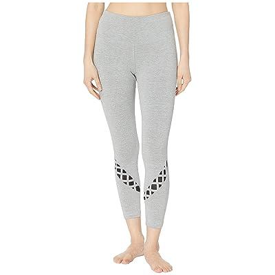 Bebe Sport Sport Crisscross Pants (Heather Grey) Women