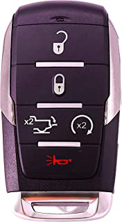 TG Auto 5 Buttons 433Mhz Smart Car Remote Key For 2019 2020 Dodge Ram 1500 Pickup FCC : OHT-4882056 P/N : 68291689 68442907 AA AB AC AD