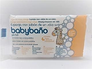 comprar comparacion Babybaño Esponja Jabonosa De Un Solo Uso Para Bebés, 0 A 3 Años - Estuche de 25 esponjas.