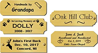 Best name plate template in word Reviews