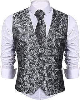Amazon.es: Gris - Chalecos / Trajes y blazers: Ropa