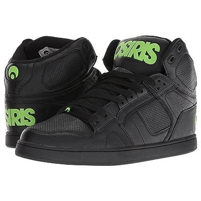 Osiris NYC 83 Classic (Black/Green/Black) Men