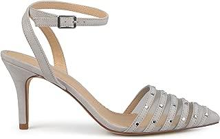 Best ankle strap heels grey Reviews