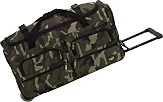 Rolling Duffel Bag, Camouflage, 30-Inch