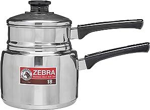 Zebra Double Boiler With Long Handle Classic, 18cm