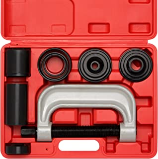 Neiko 20597A Automotive Ball Joint Service Tool Kit, Remove & Install for 2WD & 4WD, 10 Piece Set