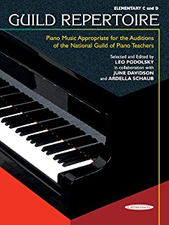 Guild Repertoire -- Piano Music Appropriate for the Audition