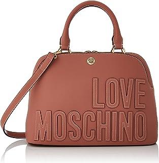 Love Moschino Damen Borsa A Spalla Da Donna Schultertasche, Kollektion Herbst Winter 2021, Rosa, Einheitsgröße