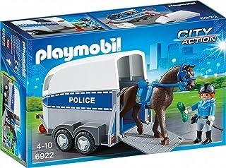 PLAYMOBIL City Action 6922 Jednostka konna z przyczepką, od 4 lat