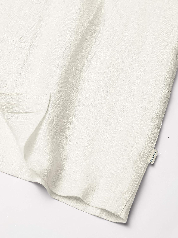 Cubavera Mens Engineered Dobby One Pocket Shirt
