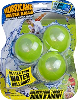 Prime Time Toys Hurricane Reusable Water Balls Toy (3-Pack/Colors May Vary)