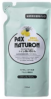 詰替用パックスナチュロントイレ洗い石けん 350ml