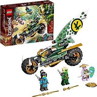 کیت ساختمانی LEGO NINJAGO Lloyd's Jungle Chopper Bike 71745؛ اسباب بازی دوچرخه نینجا با حضور نینجاگو لوید و مینی فیگورهای NYA ، جدید 2021 (183 قطعه) ؛ اسباب بازی برتر برای کودکانی که عاشق بازی خلاقانه بسته بندی شده در اکشن هستند