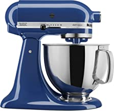 KitchenAid KSM150PSBW Artisan Series 5-Qt. Stand Mixer with Pouring Shield - Blue Willow