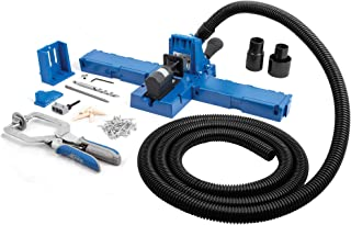 Kreg Jig K5 Master System and 10 Foot Long Universal Dust Collection Hose with 2 Rubber Fittings and a Shop Vacuum Adaptor (K5MS with Hose Kit)