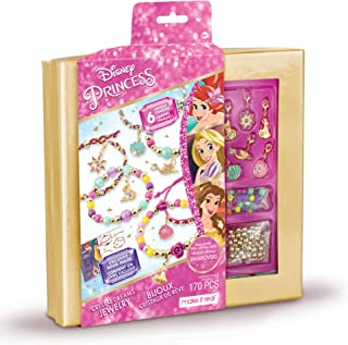 Girls princess name bracelet jewelry making craft container