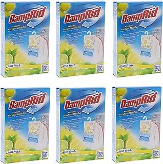 DampRid Hanging Moisture Absorber - Citrus Fresh Bag, 14Oz (6 pack)