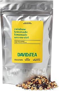 DAVIDsTEA Rainbow Lemonade Loose Leaf Tea, Premium Herbal Tea with Pineapple and Raspberry, 3.5 oz / 100 g