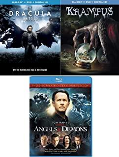 An Enduring legend & Ghouls Demons & Angels Tom Hanks + Krampus & Dracula Untold Triple Feature Blu Ray