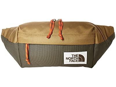 The North Face Lumbar Pack (British Khaki/New Taupe Green) Travel Pouch