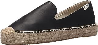 Soludos Women's Leather Platform Smoking Slipper