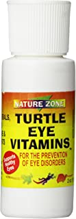 Nature Zone SNZ59251 Turtle Eye Vitamin Supplement, 2-Ounce