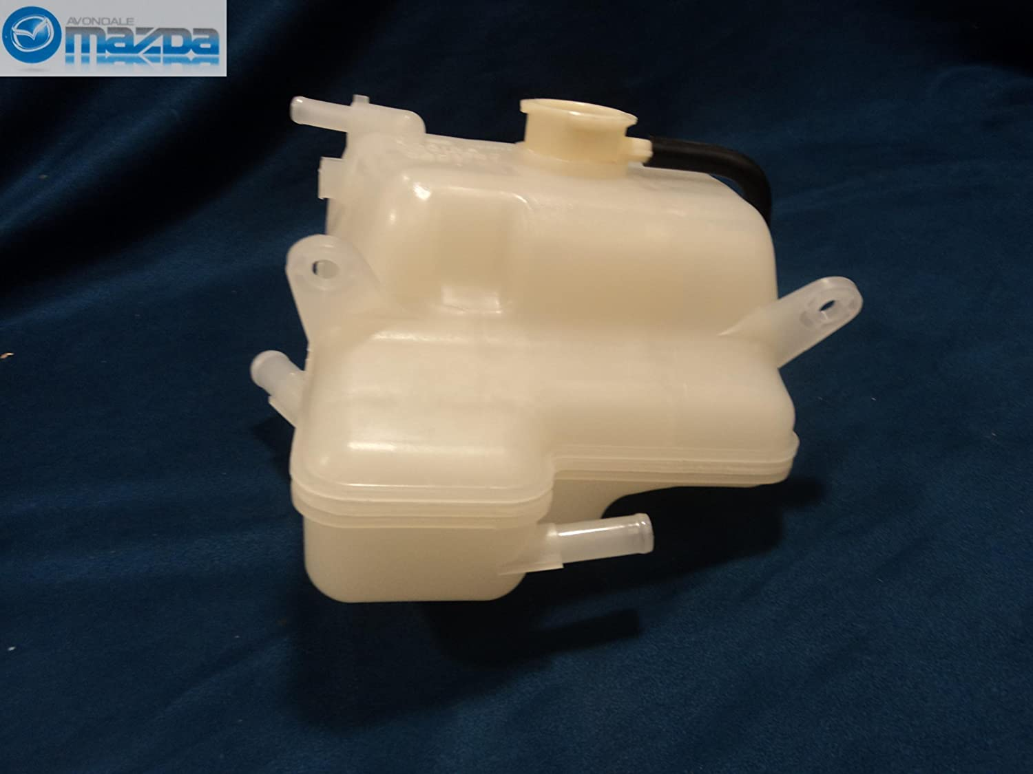 MAZDA RX8 2004-2011 NEW OEM RADIATOR COOLANT OVERFLOW TANK WITH OUT LEVEL SENSOR