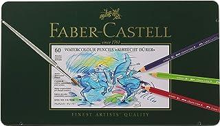 ファーバーカステル アルブレヒト デューラ水彩色鉛筆 60色 缶入 117560 [日本正規品]