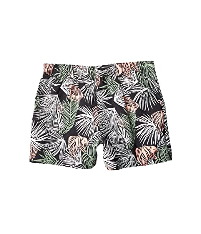 Columbia Super Backcasttm Water Shorts (Black Tropical Feathery Leaves) Women