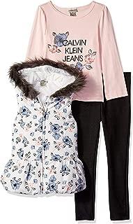 Calvin Klein 女童羽绒背心 3 件套