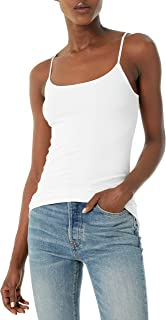 skinnytees - Basic Skinny Camisole For Women | Seamless Spaghetti Strap Cami Tank Tops