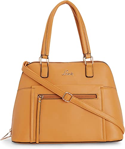 Eldora Large Dome Satchel Women s Handbag Ochre