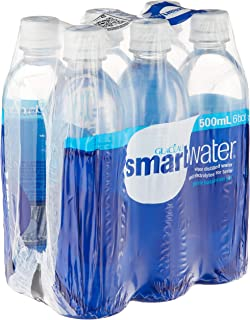 Glaceau Smartwater, 6 x 500ml